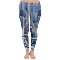 Manhattan New York City Classic Winter Leggings