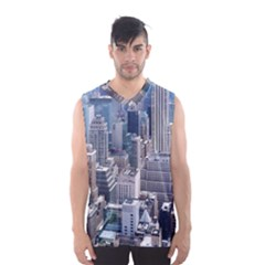 Manhattan New York City Men s Basketball Tank Top