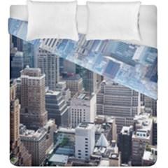Manhattan New York City Duvet Cover Double Side (king Size)
