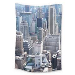 Manhattan New York City Large Tapestry