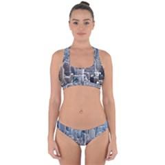 Manhattan New York City Cross Back Hipster Bikini Set
