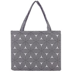 Seamless Weave Ribbon Hexagonal Mini Tote Bag by Nexatart