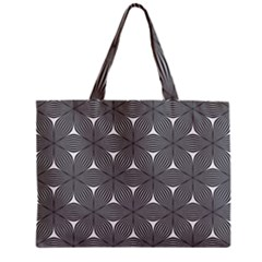 Seamless Weave Ribbon Hexagonal Zipper Mini Tote Bag by Nexatart