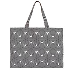 Seamless Weave Ribbon Hexagonal Zipper Large Tote Bag by Nexatart