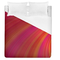 Abstract Red Background Fractal Duvet Cover (queen Size)