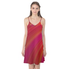 Abstract Red Background Fractal Camis Nightgown