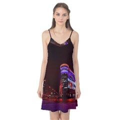 Moscow Night Lights Evening City Camis Nightgown by Nexatart