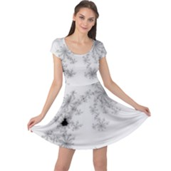 Mandelbrot Apple Males Mathematics Cap Sleeve Dress