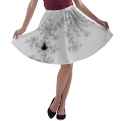 Mandelbrot Apple Males Mathematics A Line Skater Skirt