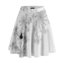 Mandelbrot Apple Males Mathematics High Waist Skirt