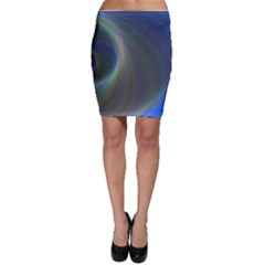 Gloom Background Abstract Dim Bodycon Skirt by Nexatart