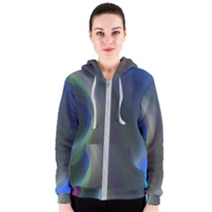 Gloom Background Abstract Dim Women s Zipper Hoodie