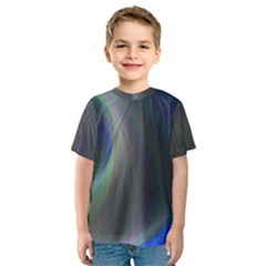 Gloom Background Abstract Dim Kids  Sport Mesh Tee