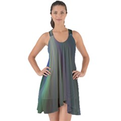 Gloom Background Abstract Dim Show Some Back Chiffon Dress by Nexatart
