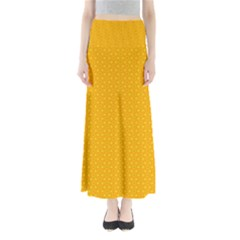 Texture Background Pattern Full Length Maxi Skirt