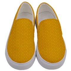 Texture Background Pattern Men s Canvas Slip Ons