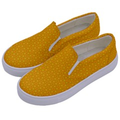 Texture Background Pattern Kids  Canvas Slip Ons by Nexatart