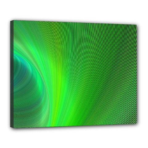 Green Background Abstract Color Canvas 20  X 16
