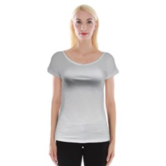 White Background Abstract Light Cap Sleeve Tops