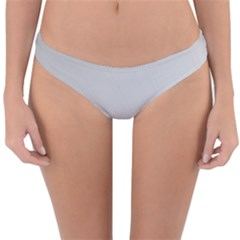 White Background Abstract Light Reversible Hipster Bikini Bottoms