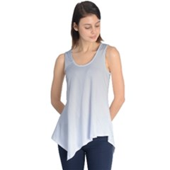 White Background Abstract Light Sleeveless Tunic