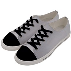 White Background Abstract Light Men s Low Top Canvas Sneakers by Nexatart
