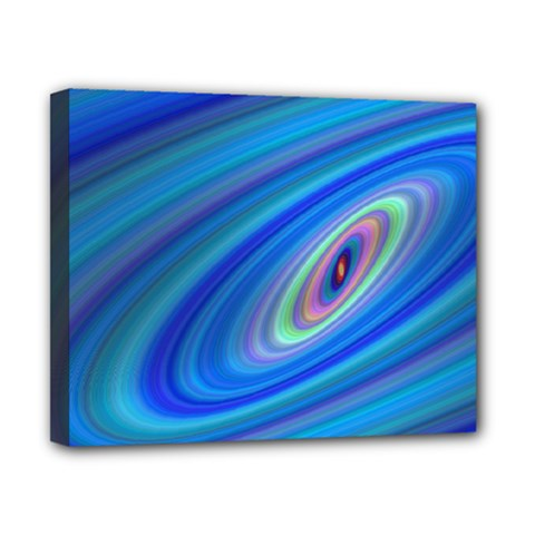 Oval Ellipse Fractal Galaxy Canvas 10  X 8