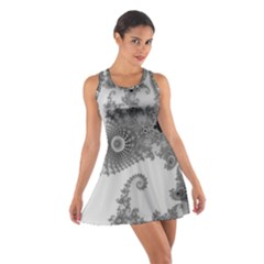 Apple Males Mandelbrot Abstract Cotton Racerback Dress