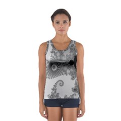 Apple Males Mandelbrot Abstract Sport Tank Top