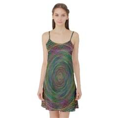 Spiral Spin Background Artwork Satin Night Slip