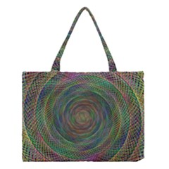 Spiral Spin Background Artwork Medium Tote Bag