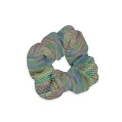 Spiral Spin Background Artwork Velvet Scrunchie