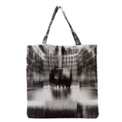 Black And White Hdr Spreebogen Grocery Tote Bag