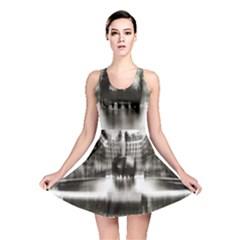 Black And White Hdr Spreebogen Reversible Skater Dress