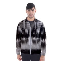 Black And White Hdr Spreebogen Wind Breaker (men)