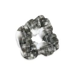 Black And White Hdr Spreebogen Velvet Scrunchie