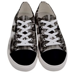 Black And White Hdr Spreebogen Women s Low Top Canvas Sneakers