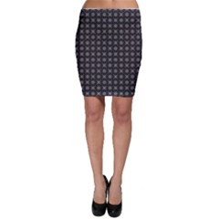 Kaleidoscope Seamless Pattern Bodycon Skirt