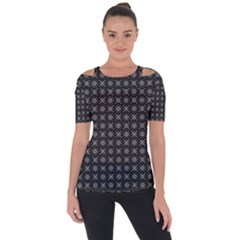 Kaleidoscope Seamless Pattern Short Sleeve Top