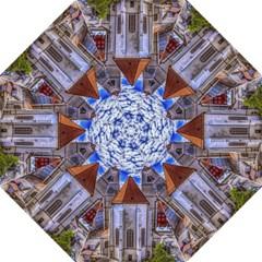 Steeple Church Building Sky Great Folding Umbrellas