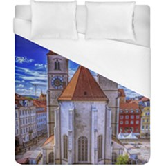 Steeple Church Building Sky Great Duvet Cover (california King Size)