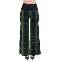Emerald Tip So Vintage Palazzo Pants by MissUniqueDesignerIs