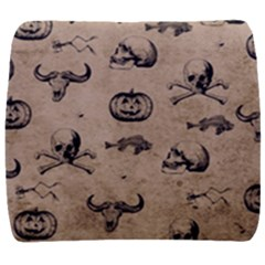 Vintage Halloween Pattern Back Support Cushion