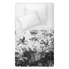 Vintage Halloween Pattern Duvet Cover (single Size) by Valentinaart