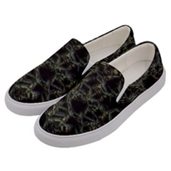 Jagged Stone 2d Men s Canvas Slip Ons by MoreColorsinLife
