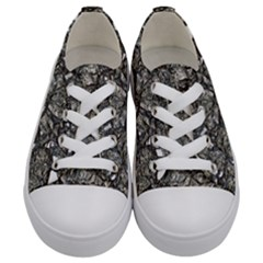 Jagged Stone 3a Kids  Low Top Canvas Sneakers