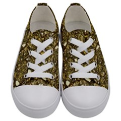 Jagged Stone 3b Kids  Low Top Canvas Sneakers