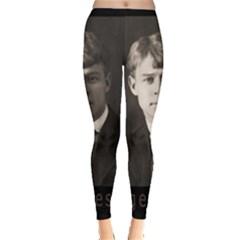 Sergei Yesenin Leggings  by Valentinaart