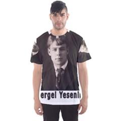 Sergei Yesenin Men s Sports Mesh Tee by Valentinaart