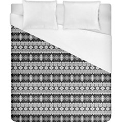 Fancy Tribal Border Pattern 17b Duvet Cover (california King Size) by MoreColorsinLife